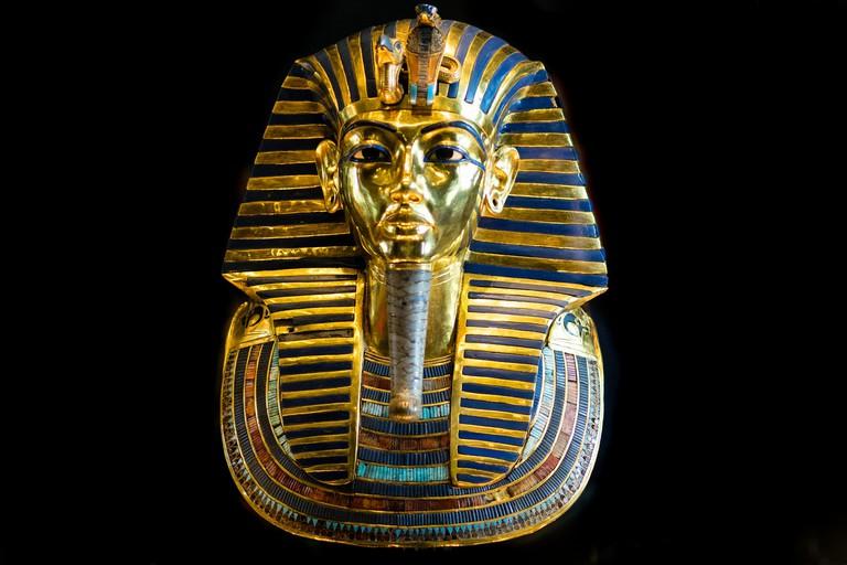 King Tut Burial Mask | © Mark Fischer/Flickr