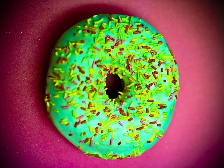 Wonderful Sprinkle Doughnut