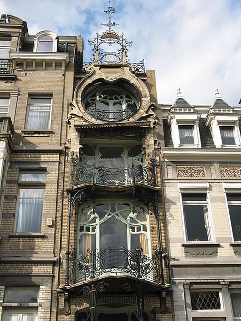 Het huis Saint-Cyr (1903 - Architect: Gustave Strauven) | Jean-Pol GRANDMONT/WikiCommons