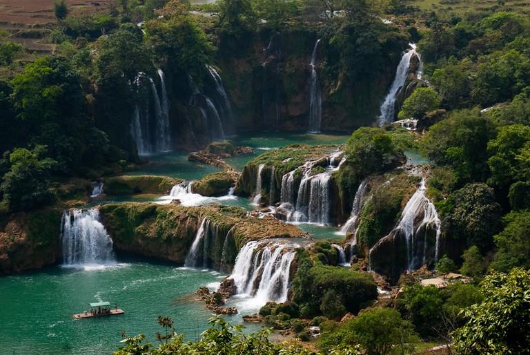 Ban Gioc-Detian Falls | © jan go/Flickr