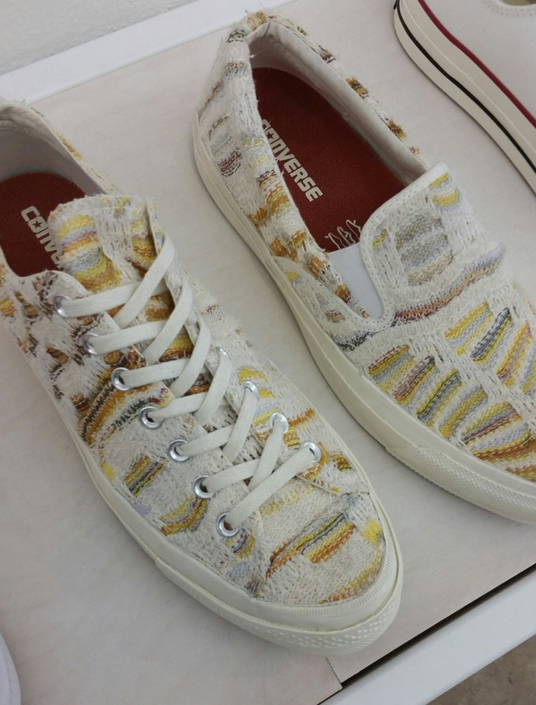Missoni Converse at Blends