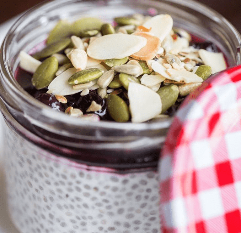 Giant Steps' Coconut Chia Pudding