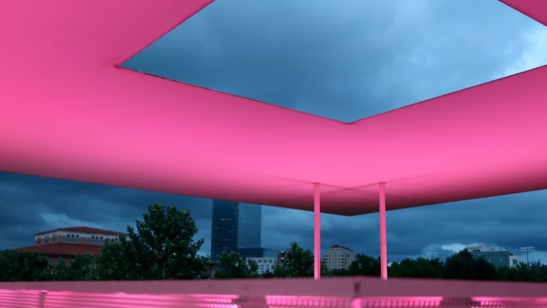 James Turrell Twilight Epiphany Skyspace | Courtesy Of Tori Chalmers