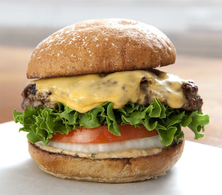 Grass-fed Burger
