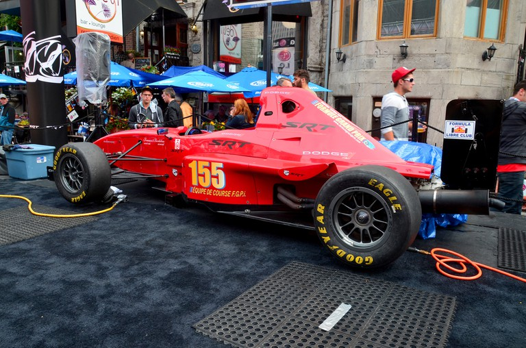 Formula grand prix in exhibition for the F1 weekend in downtown Montreal © meunierd / Shutterstock