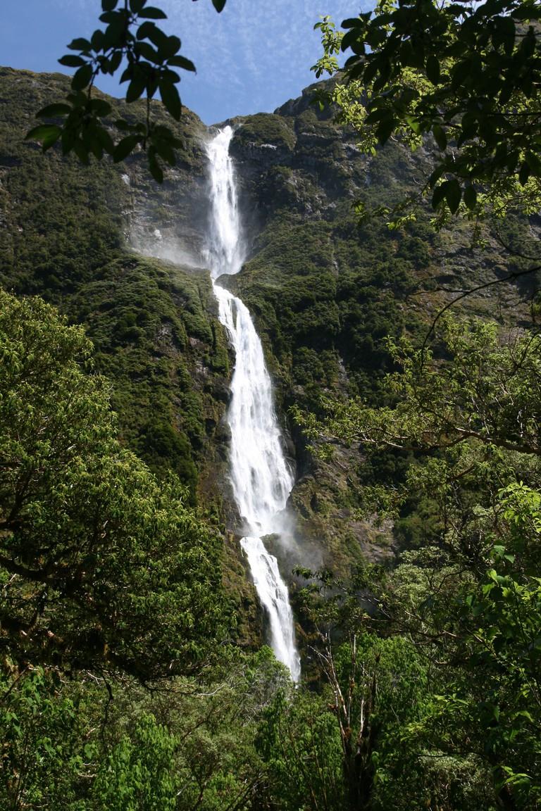Sutherland Falls | © Javier Sánchez Portero/WikiCommons