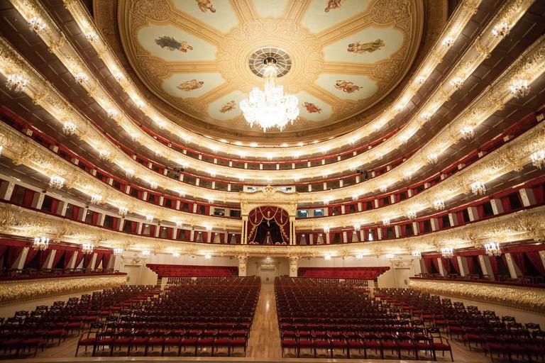 The Bolshoi Theater, Moscow