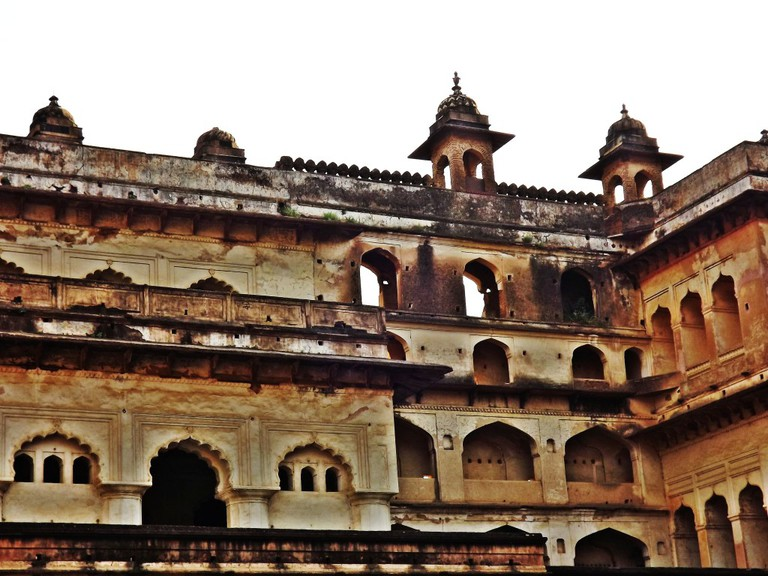A Section of the Orchha Fort (C) Anshul Kumar Akhoury