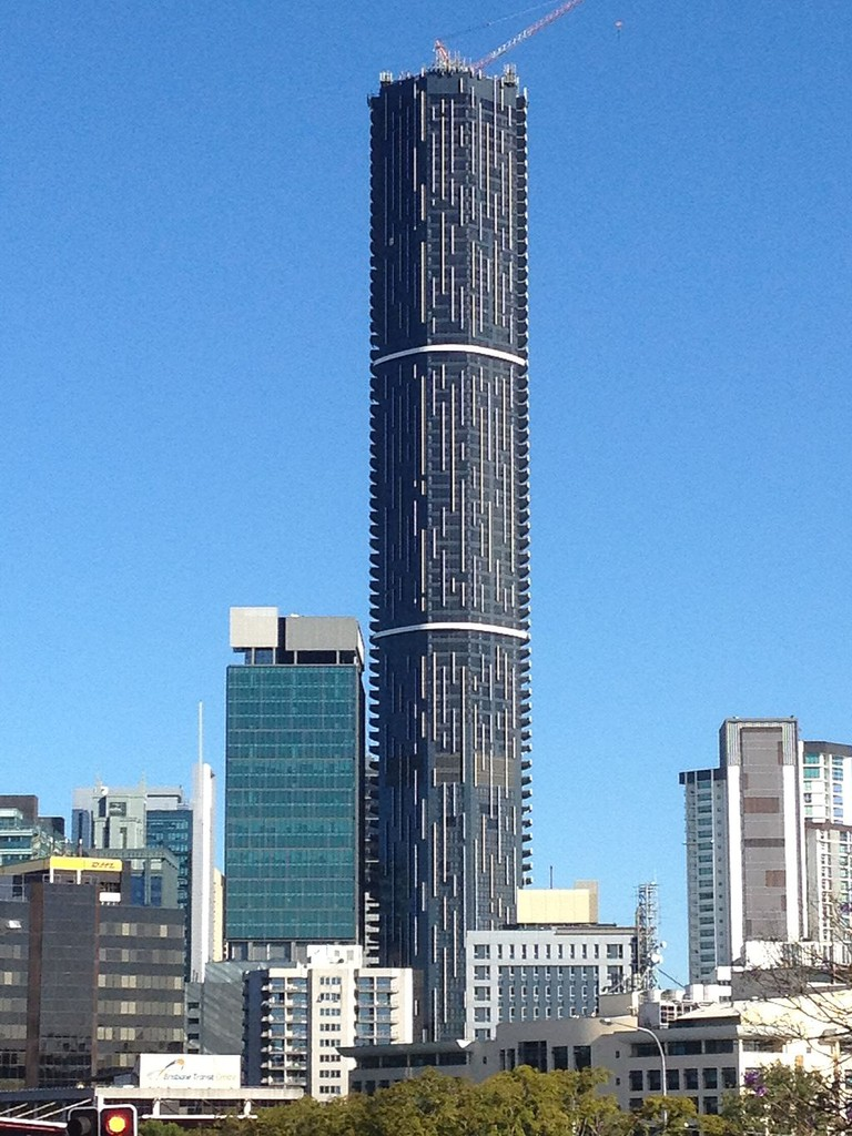 Infinity Tower, Brisbane in 11.2013