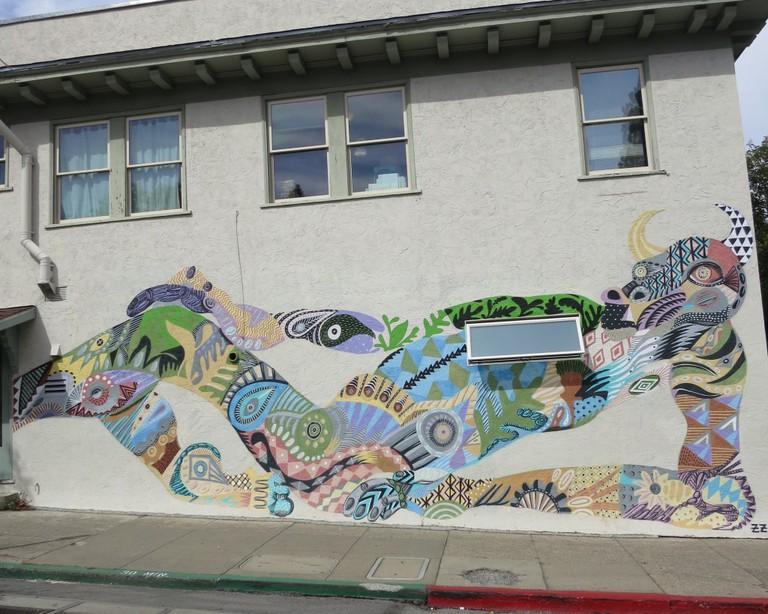 Zio Ziegler mural © Danielle Chemtob