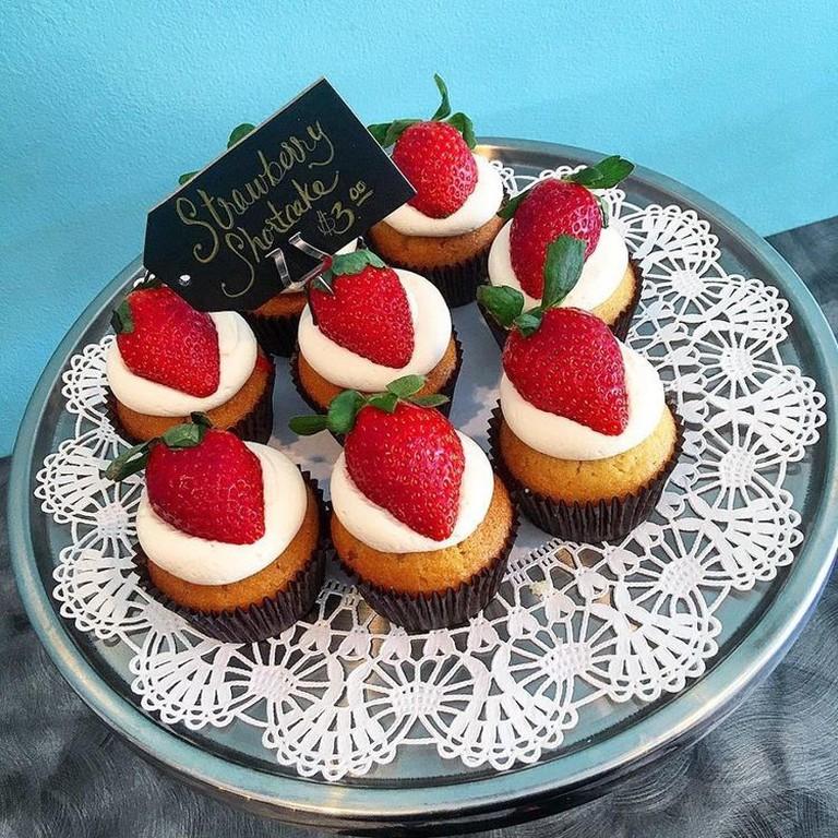 Strawberry Shortcake | Image Courtesy of I.M. Pastry Studio