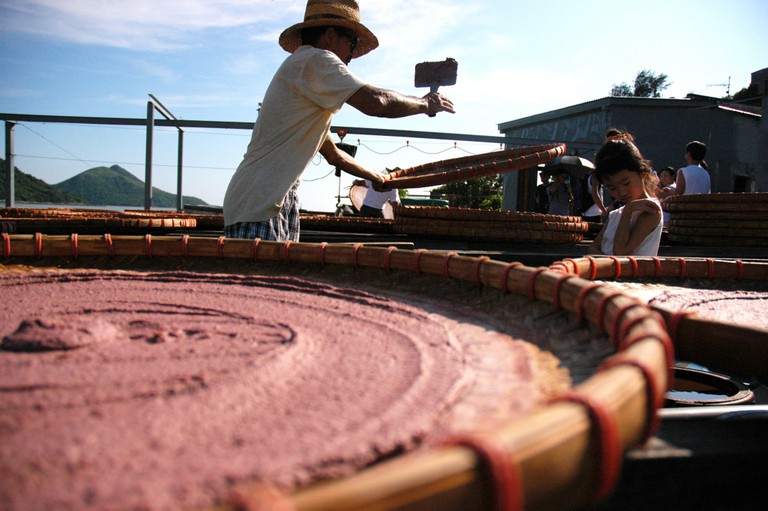 Tai O Worker & Shrimp Paste