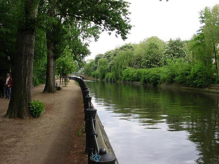 Landwehrkanal, Kreuzberg | © Kjetil r (talk | contribs)/WikiCommons