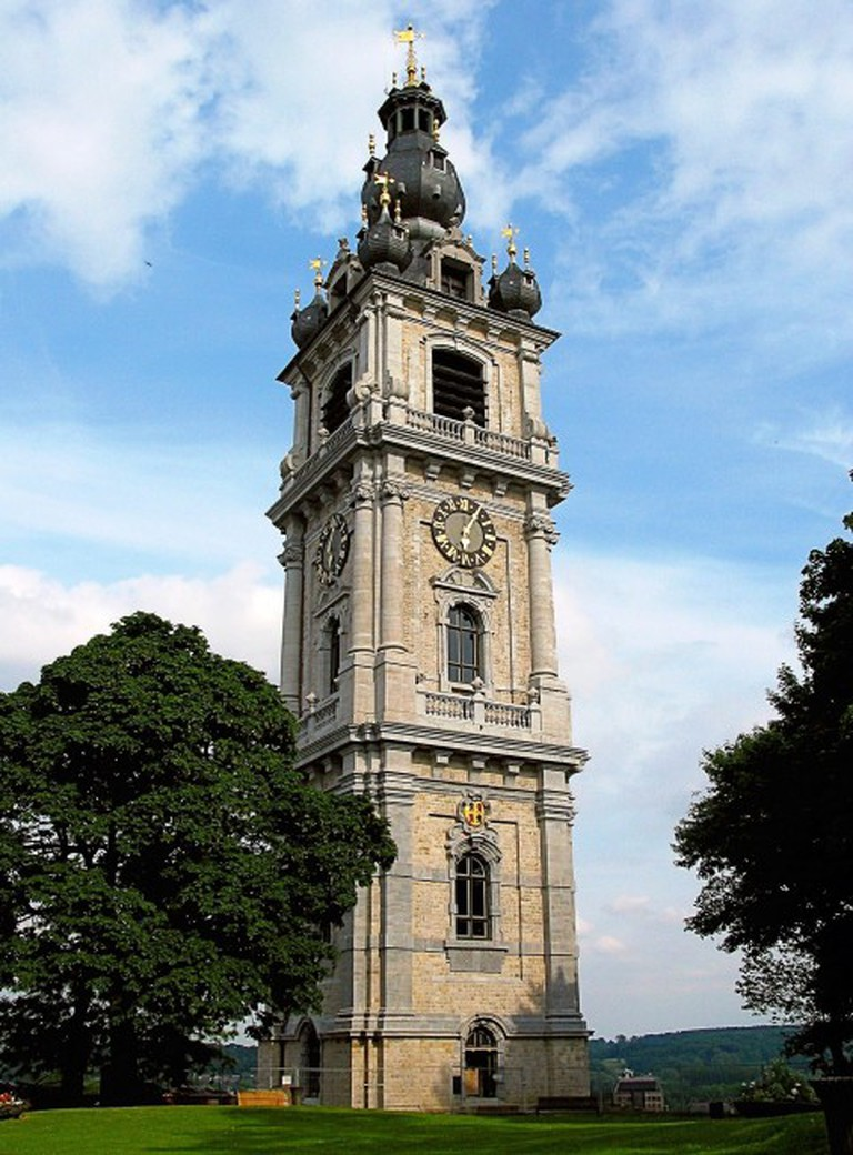 The only baroque belfry in the land | © Jean-Pol Grandmont/Wikimedia Commons