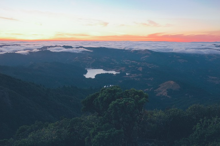 Sunset from Mount Tam © Basheer Tome/Flickr