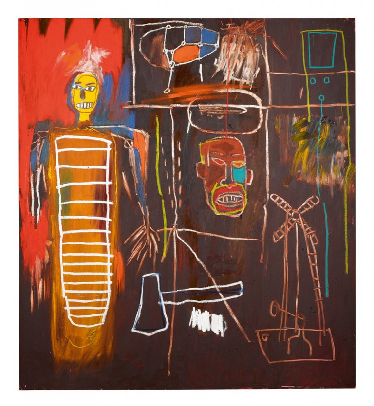 'Air Power' by Jean-Michel Basquiat, 1984| Courtesy of Sotheby's