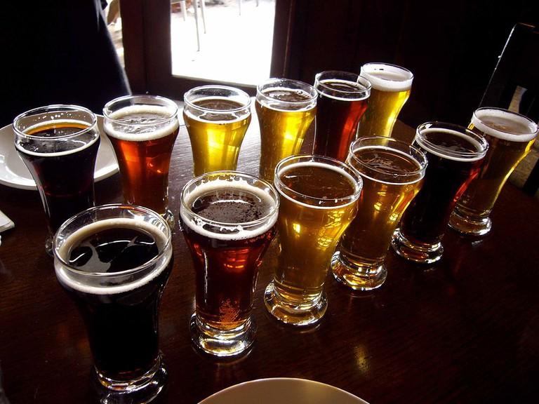 Many types of beer |©Palosirkka/WikiCommons