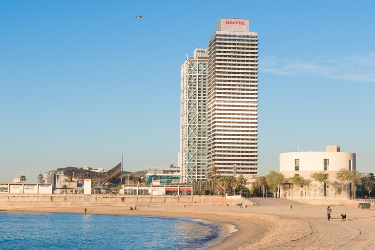 The Mapfre Tower and Hotels Arts | © José Manuel Romero