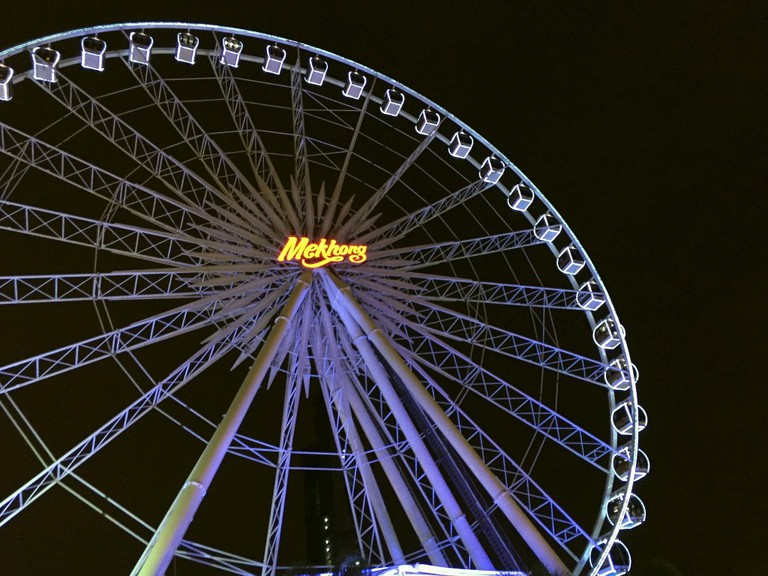 Asiatique Ferris Wheel/Courtesy of Kelly Iverson