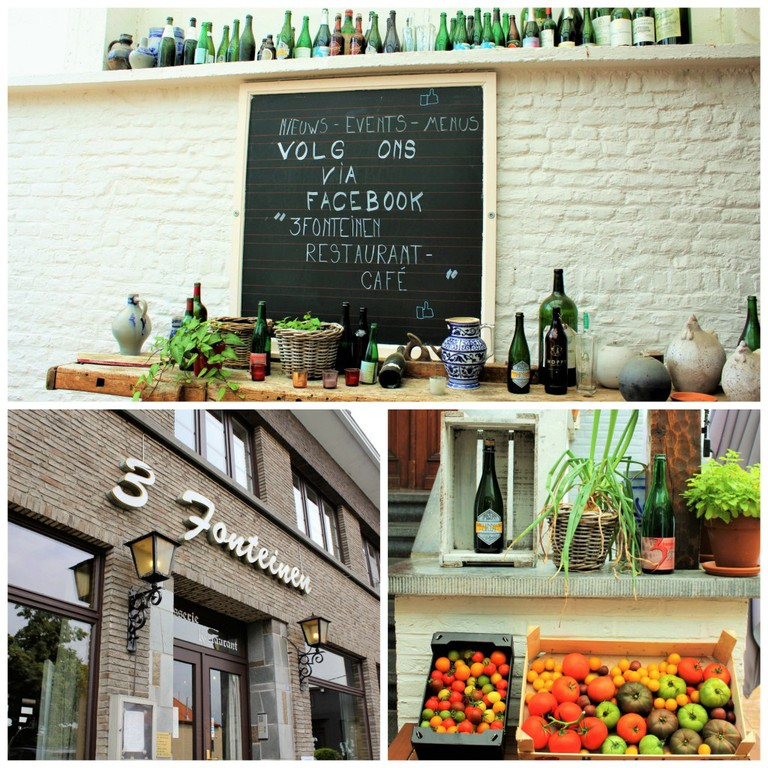 Dine with the locals at De Drie Fonteinen   Courtesy of Anne Boyle