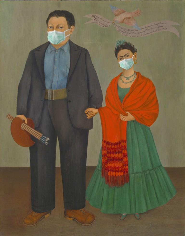 Frieda y Diego Rivera| © Amio Cajandar/Flickr