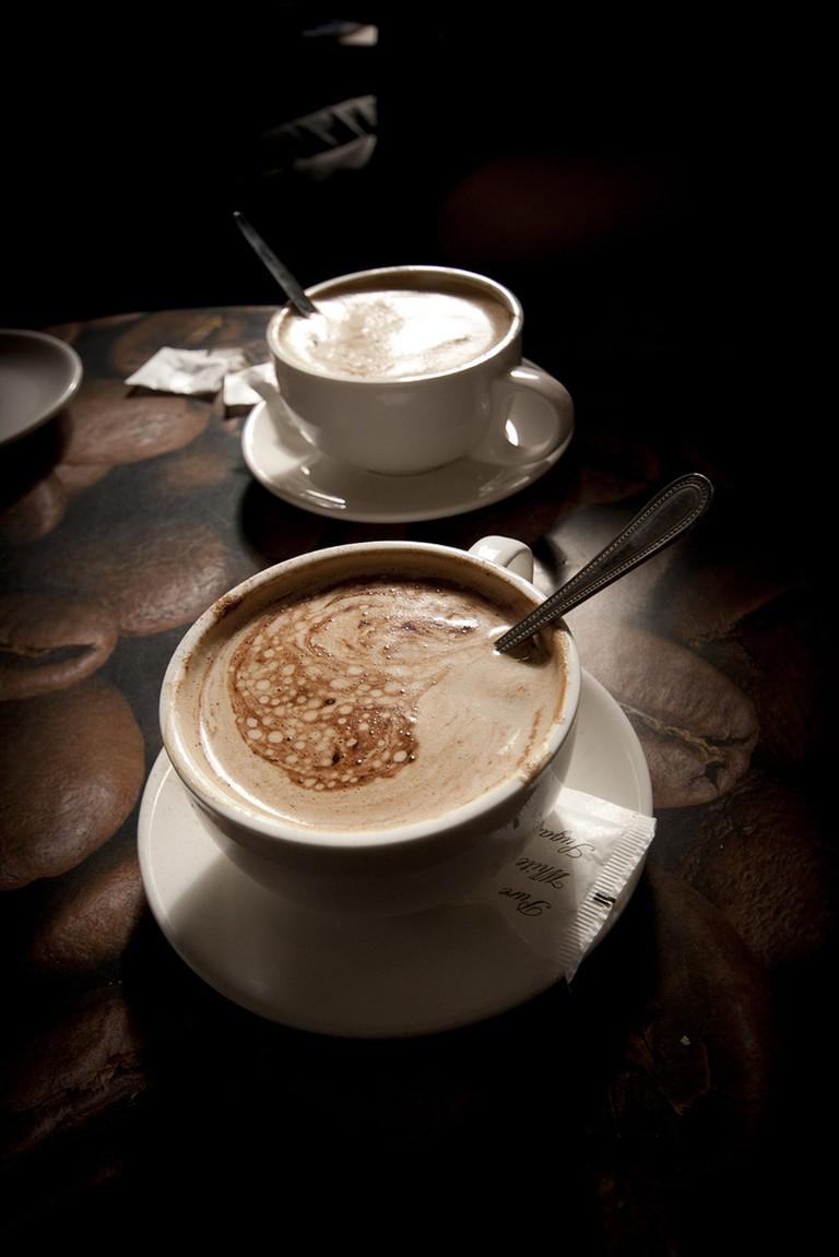 Coffee at Café Luna