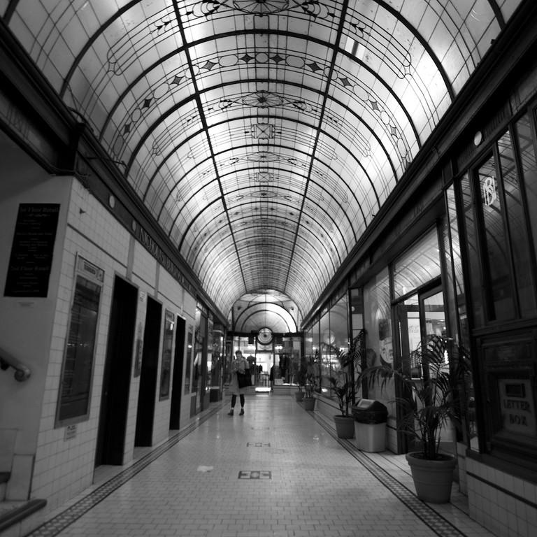 Cathedral Arcade: Nicholas Building lifts © Katherine Lim/Flickr
