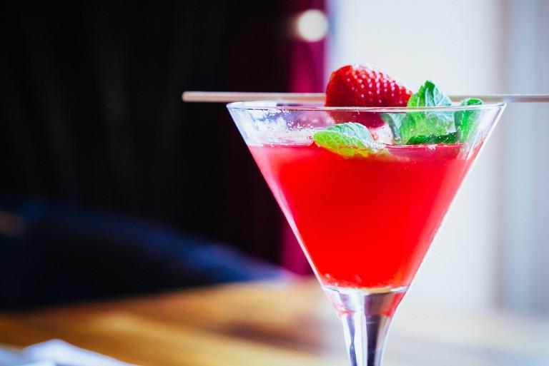 A strawberry martini | © daspunkt / Flickr