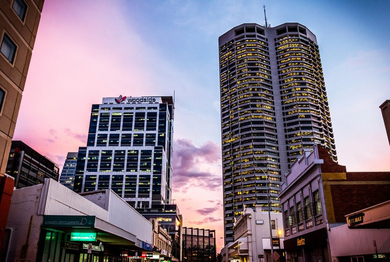A purple sunset in Perth   ©Daniel Lee/Flickr