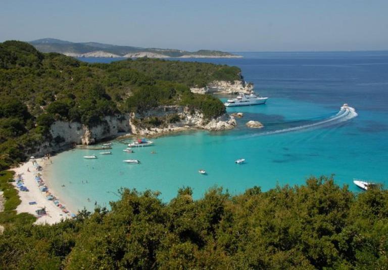 Voutoumi beach, Antipaxos | © Costas78/WikiCommons