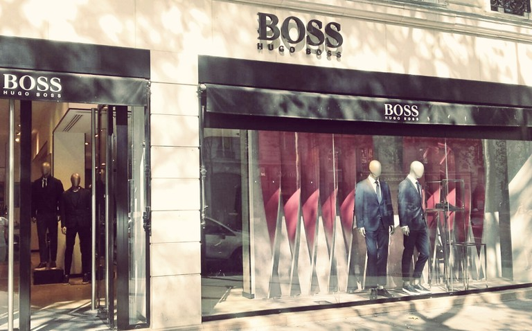 BOSS store Saint-Germain