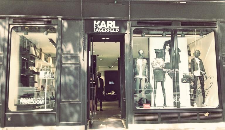 Karl Lagerfeld store Saint-Germain
