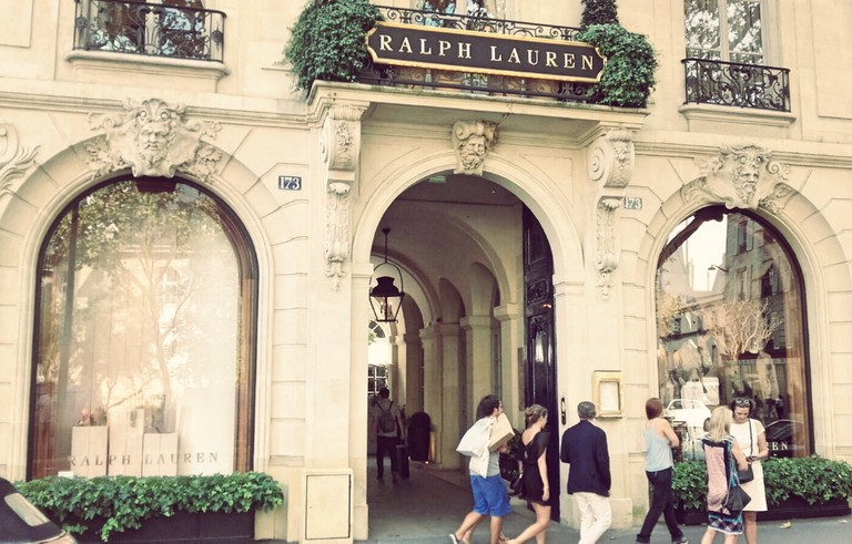 Ralph Lauren store Saint-Germain