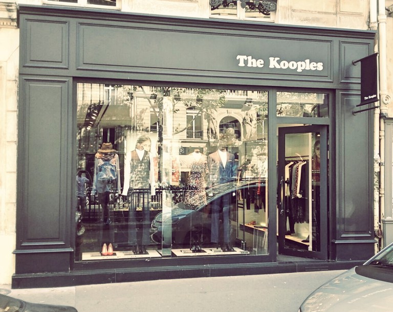 The Kooples store Saint-Germain