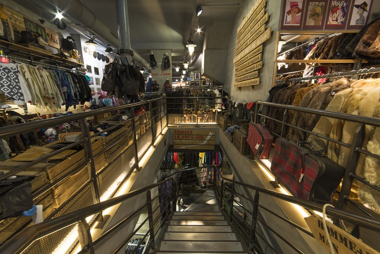 Two floors of shopping at Kilo Shop