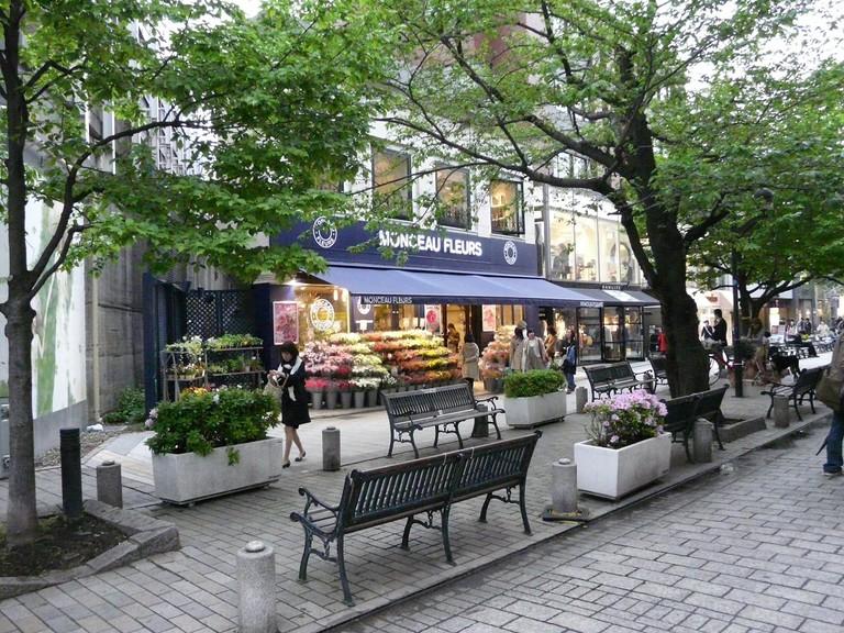A shopping street in Jiyugaoka | © W00kie/WikiCommons
