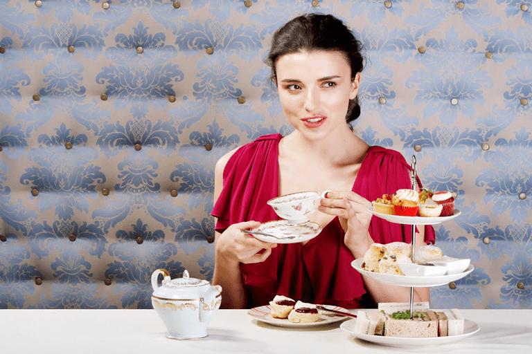 High tea at The Tea Salon