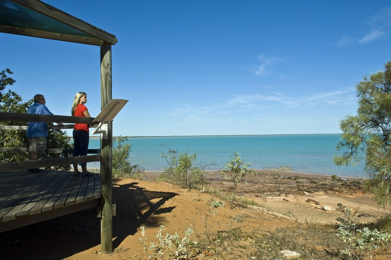 View from the lookout at the Broome Bird Observatory, overlooking Roebuck Bay | Courtesy of Tourism Western Australia