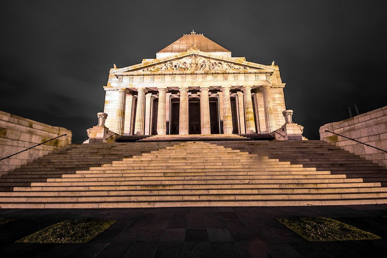 The Shrine of Remembrance, Melbourne | © Tiers of Brad / Flickr