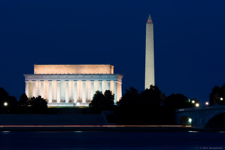 Monuments Seen From Potomac   © Dan G./Flickr