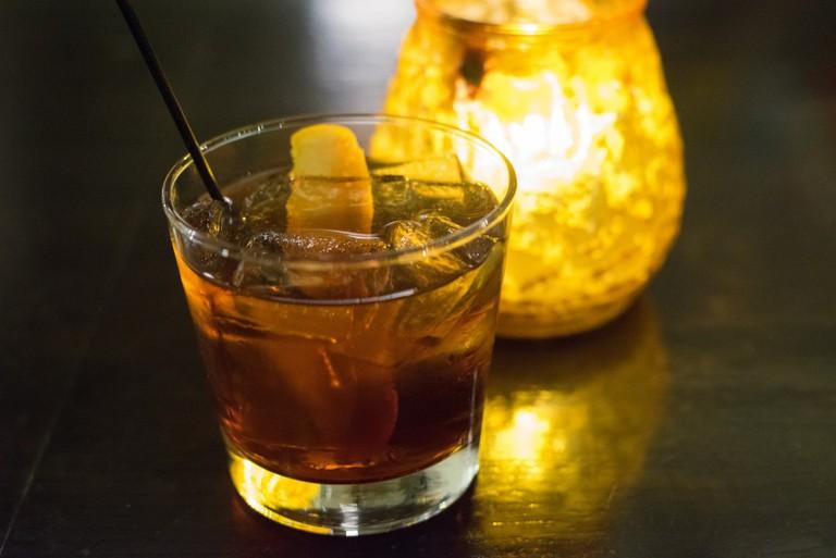 A vermouth cocktail   © Edsel Little