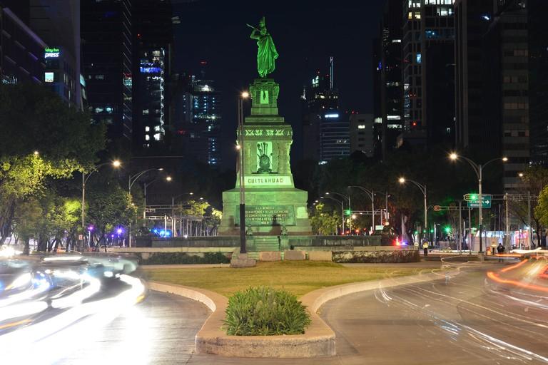 Monumento a Cuauhtémoc   © Marmened/Flickr