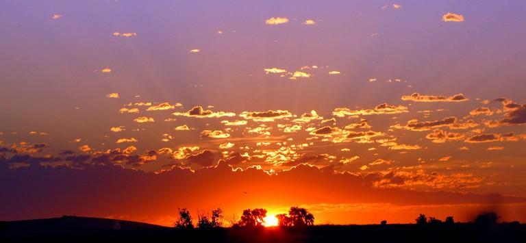 Sunrise in the Magic Valley, Idaho | © Matt/Flickr
