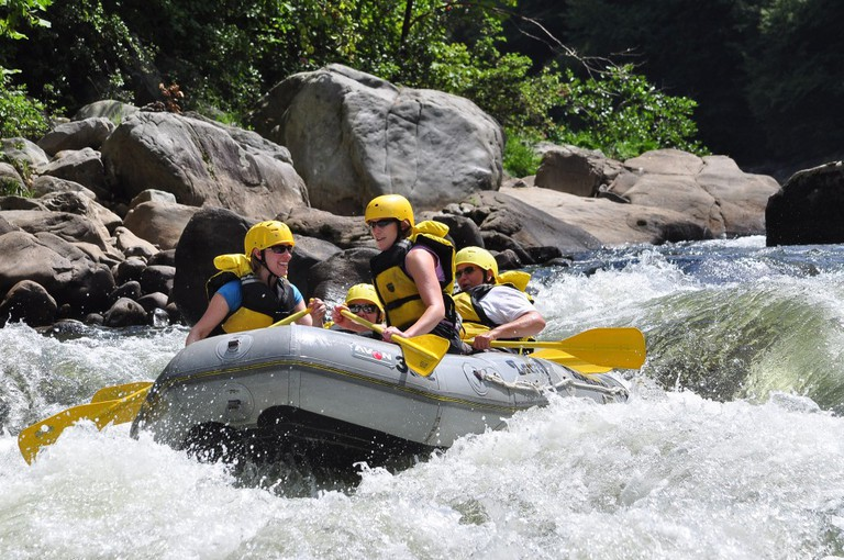 White water rafting | © Michelle/Flickr