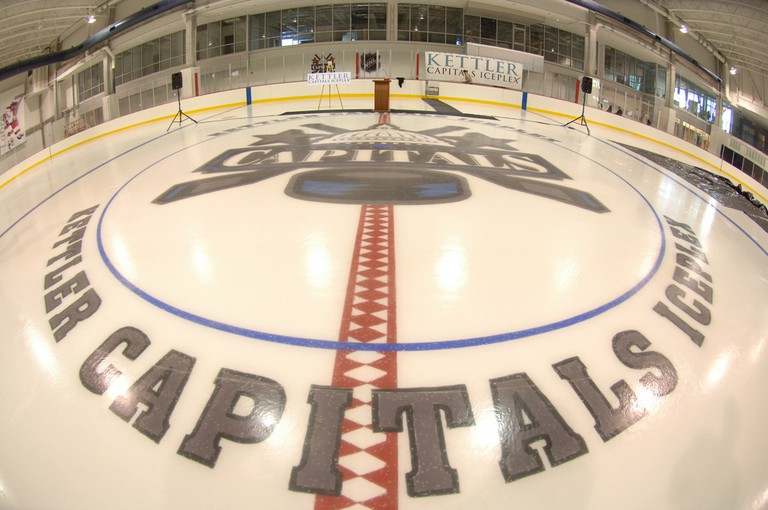 Capitals Iceplex | © Arlington County/Flickr