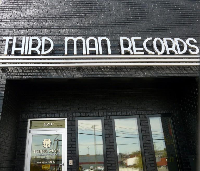 © Third Man Records storefront/Daniel Hartwig/Flickr