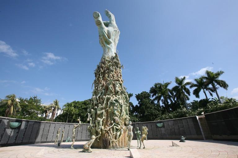 The Holocaust Memorial in Miami