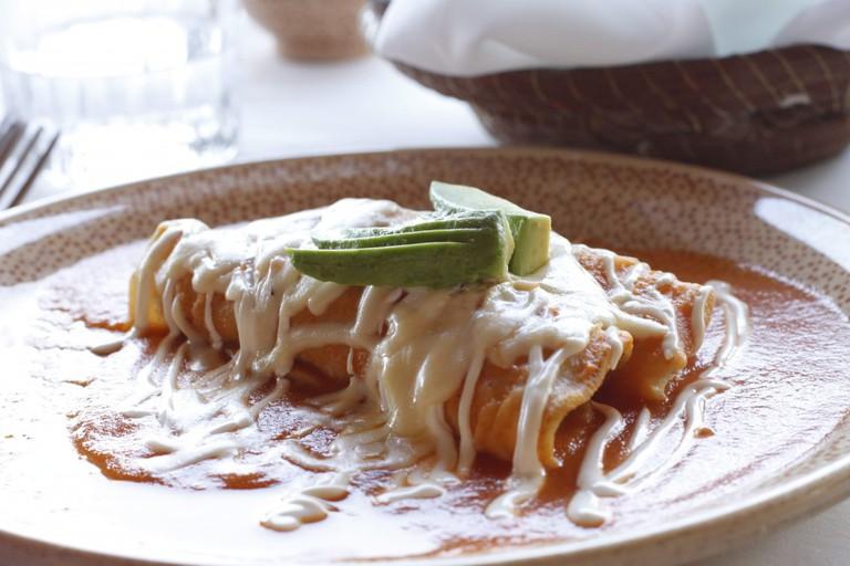 Enchiladas | © Darren & Justine/Flickr