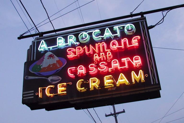 Locally Famous Angelo Brocato Ice Cream