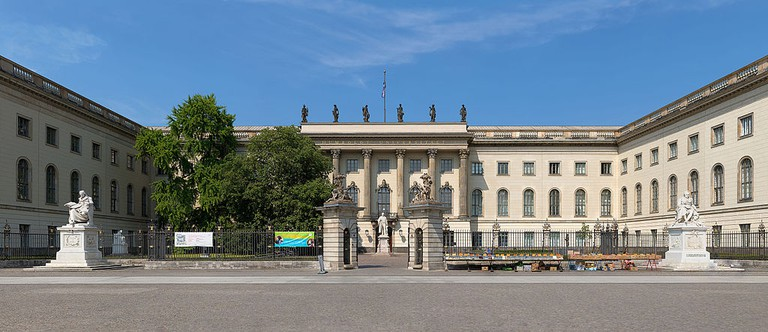 Humboldt University of Berlin, Unter den Linden